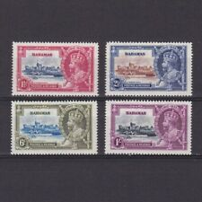 BAHAMAS 1935, SG# 141-144, 'Silver Jubilee', MH