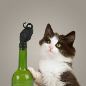 Fred Stop Kitty Wine Stopper NEW Free P&P Stoking fillers Kitchen Craft