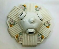 Antique Porcelain Sconce Ceiling Light Fixture (3 bulb)