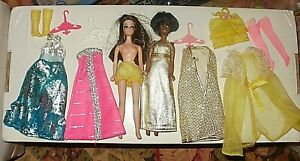 Dale & Angie dolls + some clothing, Topper Dawn series vintage 1970s vinyl