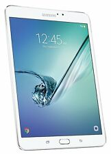 "Samsung Galaxy Tab S2 8.0"" 32GB Tablet 3GB Wi-FI 8mp SM-T713NZWEXAR White NEW"