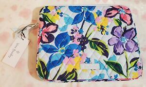 VERA BRADLEY Tablet Sleeve i-Pad Kindle Nook MARIAN FLORAL $39 Flower Garden
