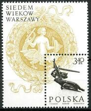 POLAND - POLONIA - BF - 1965 - 7° centenario di Varsavia.