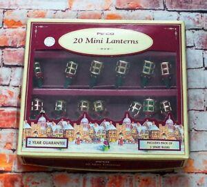 Vintage Pifco 20 Mini Lanterns Christmas Fairy Lights With Original Box