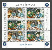 Moldova 2007 CEPT Europa MNH Booklet