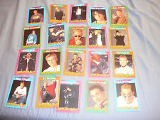 BACKSTREET BOYS LOT OF 20 TRAVIA TRADING CARDS FRENCH CARTES DEVINETTES