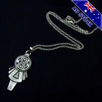 Doctor Who Key Two-Sided gun Metal tone Pendant Necklace For Lady Cosplay