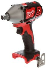 """Milwaukee 1/2"""" Cordless Impact Wrench W/ Pin Detent 18-V Lithium-Ion TOOL ONLY"""