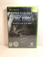 Xbox Peter Jackson's King Kong The Official Game Of The Movie **Factory Sealed**
