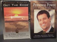 Anthony Tony Robbins Get The Edge & Personal Power CD Complete Sets