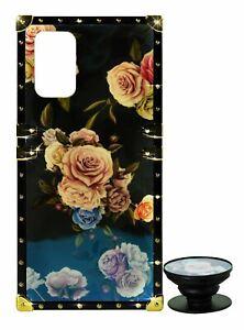 Phone Case Eye-Trunk Flowers Cover + Ring Holder For Samsung S10