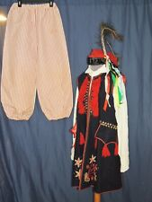 Vintage Polish? Costume w Embroidery/ Trousers / Tunic / hat / Blouse Med
