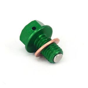 Billet Magnetic Oil Drain Plug Bolt For Kawasaki KX65/85/100/125/250/500 KLX250