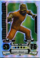 Star Wars Force Attax Series 3 Card #240 Bossk