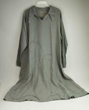 EARLY CYNTHIA ASHBY GRAY POCKET LINEN DRESS - see listing for measurements
