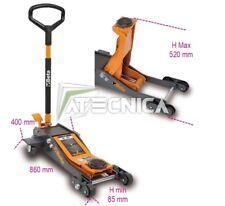 Sollevatore idraulico auto BETA TOOLS 3030/2T ribassato portata 2Ton con 6 ruote