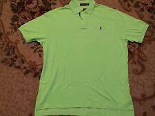 NWT Polo Ralph Lauren Classics Pony Polo Florida Green Authentic Shirt Size XXL