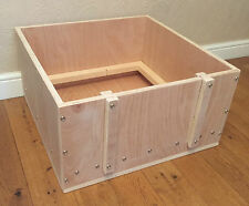 "whelping box 24"" square apprx wooden whelping box free local delivery or postage"