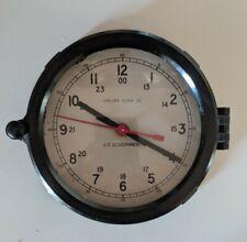 Vintage Chelsea Bakelite U.S. Government Quartz Ships Clock