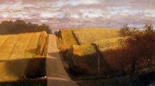 "Raymond Knaub, ""Back Road"", poster, 20""h x 36""w image, 24""h x 39""w"