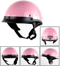 Classic Motorcycle Helmet DOT Half Helmet Vintage Open Face JET Harley Helmet
