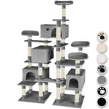 XXL Rascador para gatos Árbol arañar juguetes trepar 214 cm de altura
