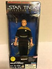 "Star Trek Collector Series Chief Miles O'Brien 9"" Action Figure *NIB* 1996"