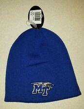 NWT Top of the World Adult MIDDLE TENN BLUE RAIDERS  Knit Cap WINTER Hat #150216