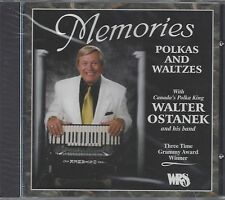 "WALTER OSTANEK  ""Memories""  NEW SEALED SLOVENIAN POLKA CD"