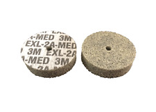 3M Scotch-Brite Unitised Wheels 50mm x 12.7mm x 6.35mm - 2A Med - (Pack of 10)