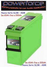 batteria slim 155ah 12mvr155l powerforce