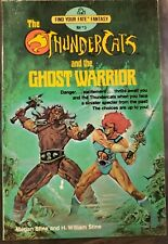 Thundercats and the Ghost Warrior Find Your Fate Fantasy #3 Paperback 1985 VF