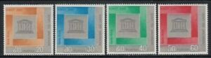 LAOS 20th Anniversary UNESCO MNH set