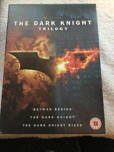 The Dark Knight Trilogy (DVD) Christian Bale, Michael Caine, Heath Ledger