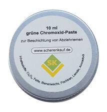 10ml Grüne Chromoxid Paste, für Leder-Abziehriemen, Streichriemen usw.
