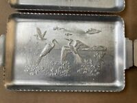 Admiration Products Corp N.Y. Hammered Aluminum Whooping Crane Tray