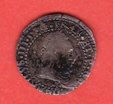 (Ref: MD.42) MONNAIE MEDIEVALE HENRI III DEMI FRANC (1587 L) BAYONNE