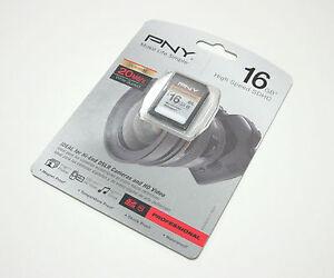 PNY 16G P500 Pro class 10 SD card for Nikon P100 D40 D40X D50 D60 D80 D90 camera