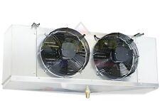 Low Profile Walk-In Cooler Evaporator 2 Fans Blower 9,000 BTU, 1,400 CFM / 115V