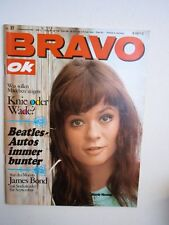 Bravo OK 1967 Nr. 37 Beatles Starschnitt Winnetou & Nscho-Tschi