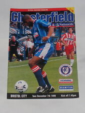 Chesterfield -v- Bristol City 1999-2000