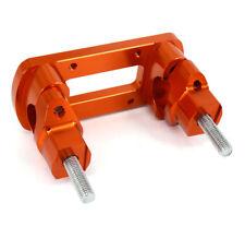 "CNC 1 1/8"" Aluminum HandleBar Fat Bar Risers Mount Clamp For KTM 125-530 00-15"