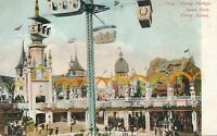 BROOKLYN NY – Coney Island Luna Park Flying Swings – udb (pre 1908)