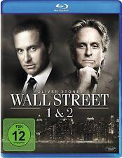 WALL STREET 1+2 (Michael Douglas) 2 Blu-ray Discs NEU+OVP