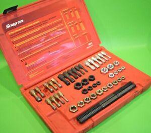 Snap On Tools Master Rethreading Tap & Die Set - Fractional & Metric (329) RTD48
