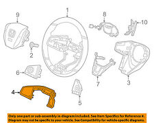 HONDA OEM 16-17 Civic Steering Wheel-Switch Panel 78544TBAA01ZB