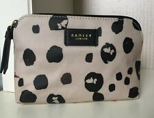 Radley Bubble Dog Medium Zip Top Pouch Make Up Bag