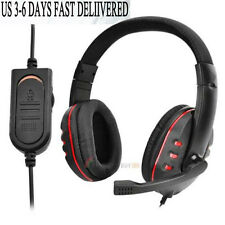 Wird Gaming Headset Mic Headphones Stereo Surround for PS4 Play Station 4 3.5mm