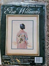 "Elsa Williams ""The Kimono"" Cross Stitch Kit - Sealed"