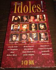 DICK RIVERS BARBARA CARLOS LES DAUPHINS ETC RARE COFFRET TRIPLE CD LONG BOX 1996